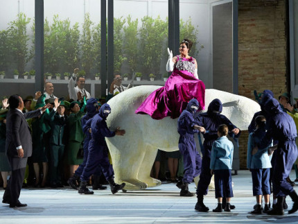 Rappresentazione della Turandot al Macerata Opera Festival