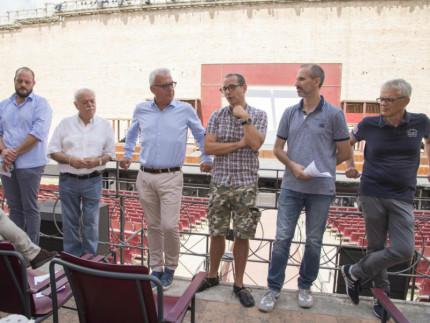 """Conferenza stampa dell'evento """"Lo Sferisterio per i Sibillini"""""""