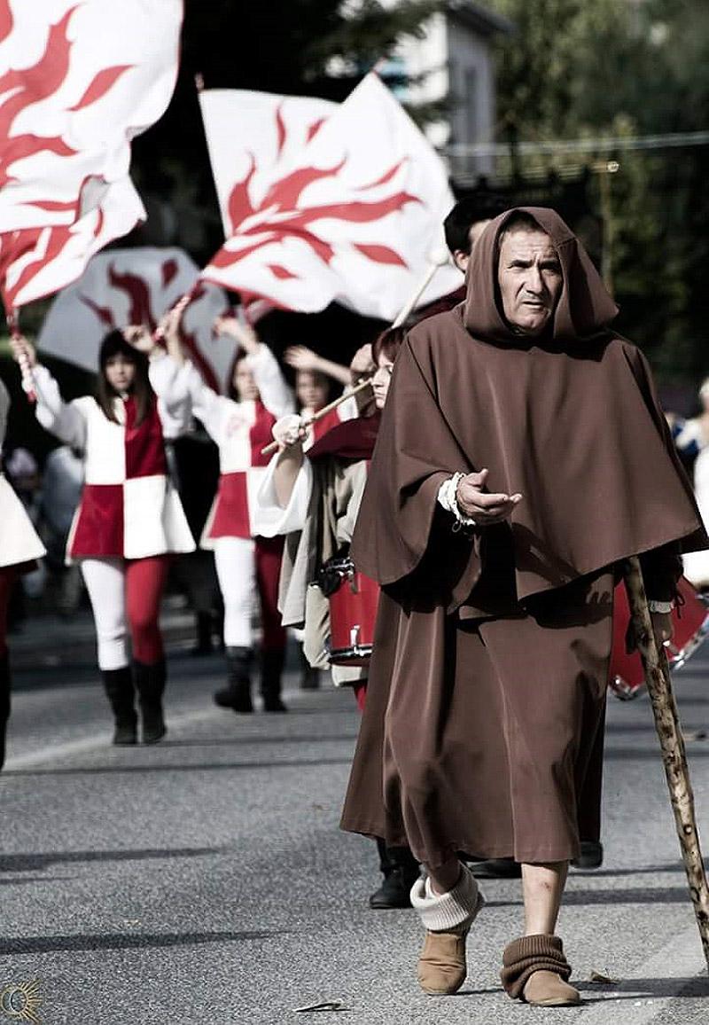 Sfilata a Corridonia con la Contesa della Margutta