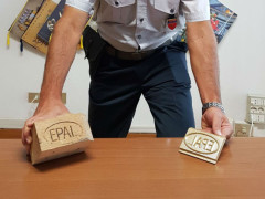 Sequestro della Finanza di Civitanova Marche a Potenza Picena