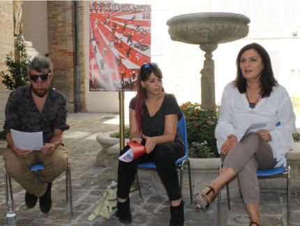 La conferenza stampa di Artemigrante a Macerata
