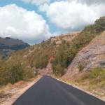Lavori sulla strada Forcella