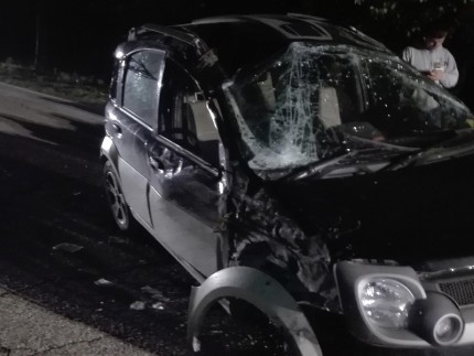 Incidente a Penna San Giovanni