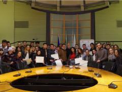 Studenti in Consiglio regionale