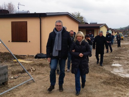 Ceriscioli in visita a San Severino Marche