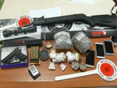 Sequestro di armi e droga