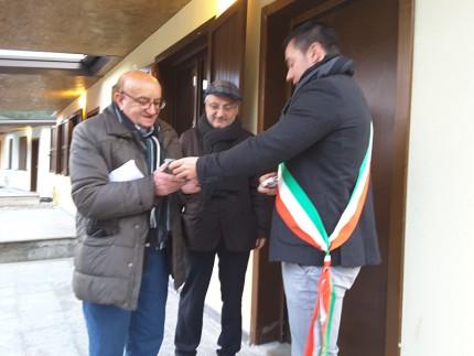 Consegna delle SAE a Pieve Torina