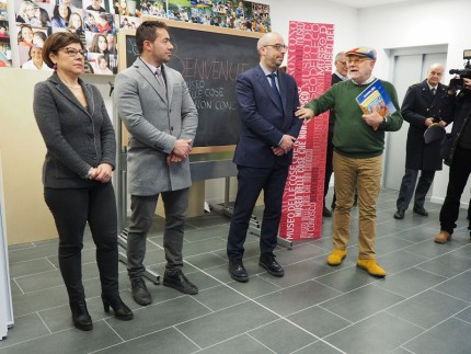 Inaugurazione scuola a Pieve Torina