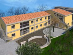 Progetto per la nuova scuola di Caldarola
