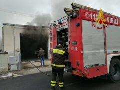 Incendio a Piediripa