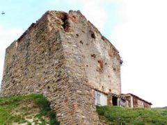 Crollo torre medievale a San Severino