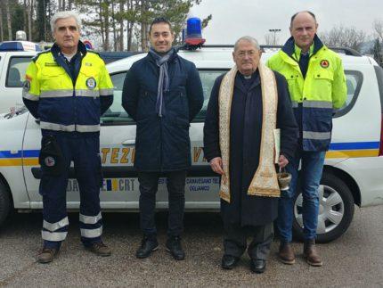 Auto donata al Comune di Pieve Torina