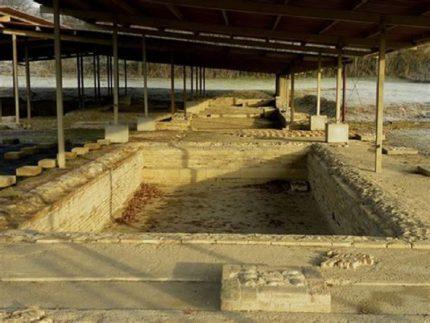 Resti archeologici a San Severino