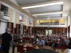 Convegno sugli anziani nel post-sisma tenutosi a Macerata
