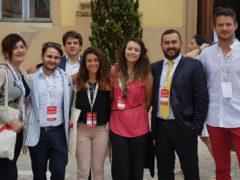 I delegati di Coldiretti Giovane Impresa delle Marche