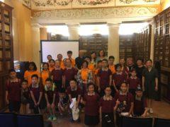 Studenti cinesi in visita a Macerata