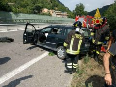 Incidente stradale a Serrapetrona