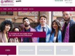 Nuovo sito internet dell'Università di Macerata