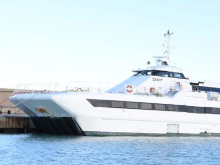 Catamarano Zenit a Civitanova Marche