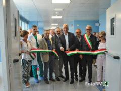 Taglio del nastro all'ospedale di Macerata