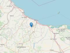 Terremoto a Montecilfone il 16 agosto 2018