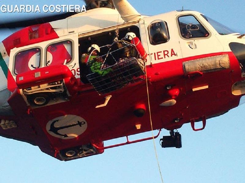 Elicottero della Guardia Costiera