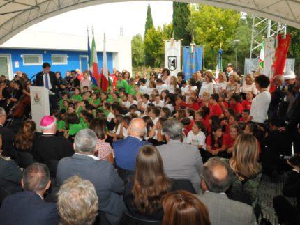 Inaugurazione scuola a San Severino