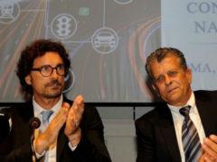 Danilo Toninelli e Amedeo Genedani