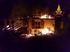 Incendio a Bolognola