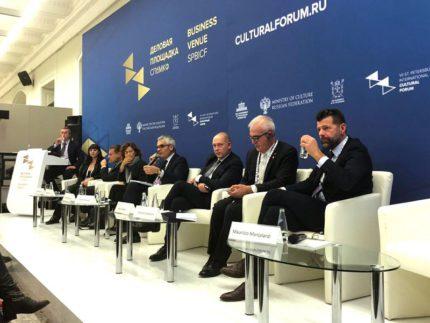 Delegazione maceratese a San Pietroburgo