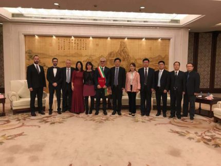 Delegazione maceratese a Taicang