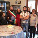 Festeggiamenti per i cento anni di Nerina Calzetti a Tolentino