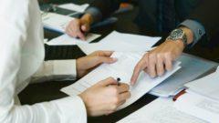 Accordo, firma, contratto