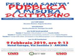 Convegno sanità ad Ancona