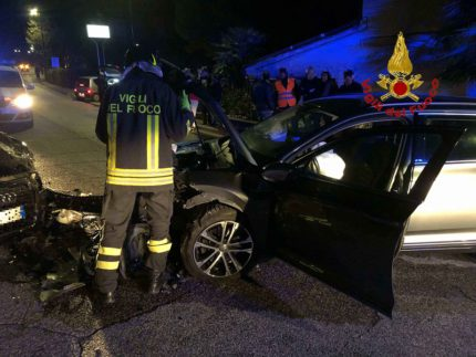 Incidente stradale a Morrovalle