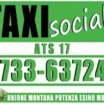 Servizio di taxi sociale a San Severino Marche