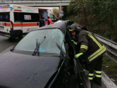 Incidente lungo la SS77 nei pressi di Corridonia