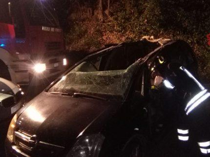 Incidente stradale a Corridonia