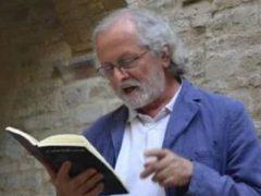 Lo scrittore Tullio Bugari