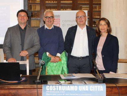"""Presentazione dell'iniziativa """"Costruiamo una città"""""""