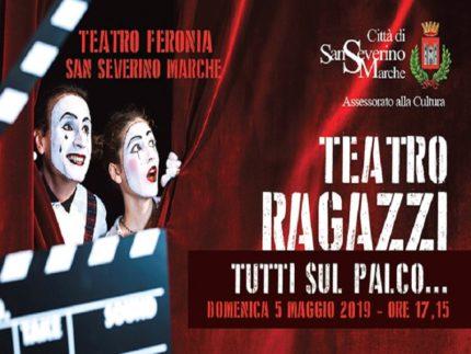 """Spettacolo teatrale """"Tutti sul palco"""""""