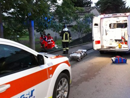 Incidente mortale a Passo di Treia
