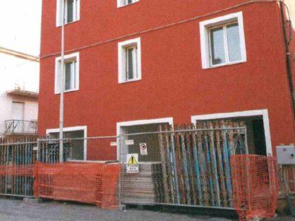 Edificio tornato agibile in via Petrarca a San Severino Marche