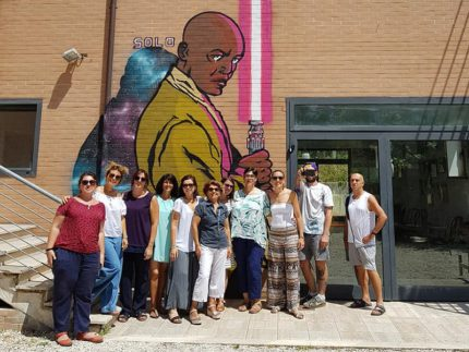Murales a Braccano, frazione di Matelica