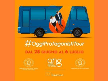 Iniziativa itinerante #OggiProtagonistiTour