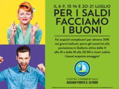 """""""Per i saldi facciamo i buoni"""", al Centro Commerciale Auchan Porto Sant'Elpidio!"""