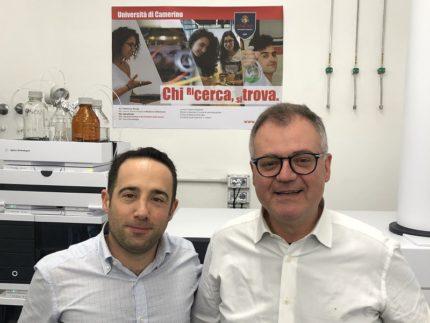 I due ricercatori di Unicam Giovanni Caprioli e Massimo Ricciutelli