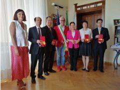 Deòegazione proveniente da Zhaoqing in visita a Macerata