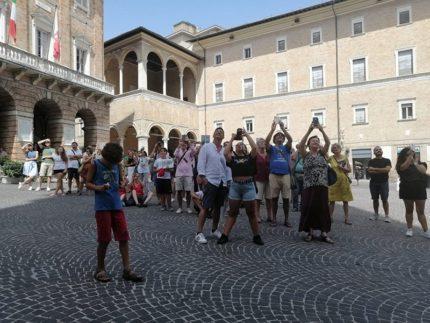 Turisti a Macerata