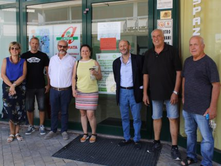 Nuovo centro civico a Piediripa
